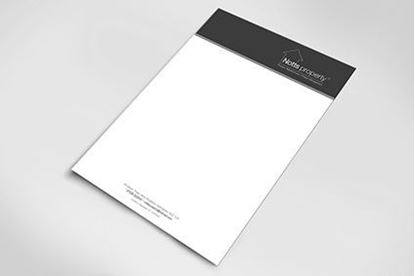 Picture of Black & White Letterheads