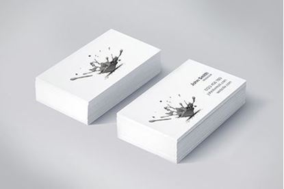 Business cards nottingham business card printing crs graphics black white business cards reheart Image collections