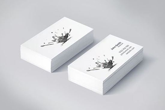 Black & White Business Cards