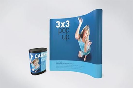 3x3 Pop-up Display